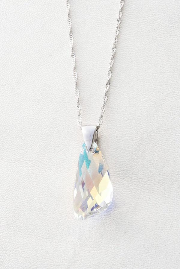 collar swarovski gota cristal