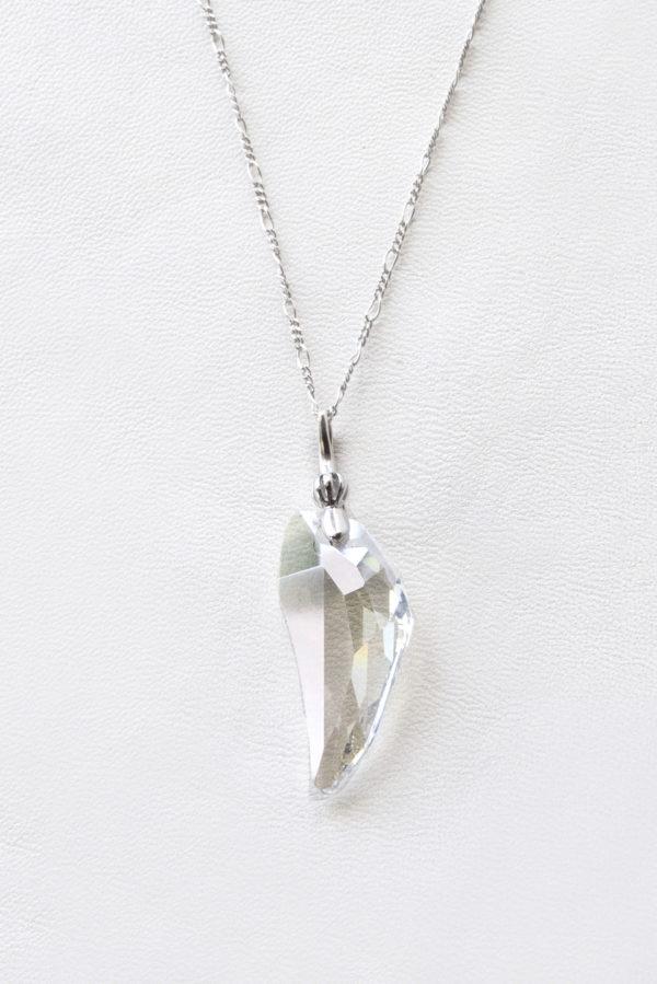 collar swarovski lagrima cristal