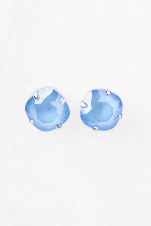 pendientes swarovski lowrider azul
